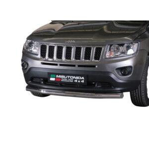 Bullbar Omologat - Low 6 Jeep Compass '11 - '16