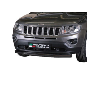Bullbar Omologat - Low 6 Negru Jeep Compass '11 - '16