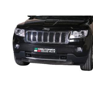 Bullbar Omologat - Low 6 Negru Jeep Grand Cheeroke '11 - '14