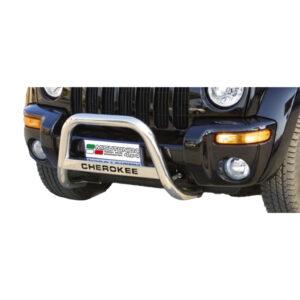 Bullbar Omologat - Model 5 cu Inscripție Jeep Cheeroke '00 - '07