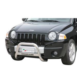 Bullbar Omologat - Model 5 cu Inscripție Jeep Compass '07 - '11