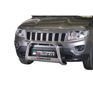 Bullbar Omologat - Model 5 cu Inscriptie Jeep Compass '11 - '16