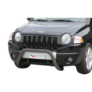 Bullbar Omologat - Model 6 Negru Jeep Compass '07 - '11