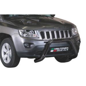 Bullbar Omologat - Model 6 Negru Jeep Compass '11 - '16