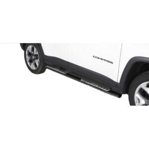 Praguri - Model 1 Negru Jeep Compass '17 - Prezent