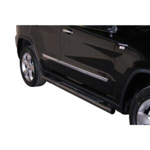 Praguri - Model 2 Negru Jeep Grand Cheeroke '11 - '14