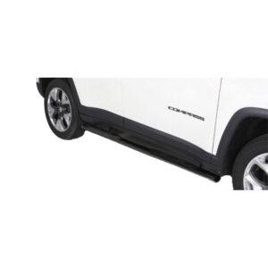 Praguri - Model 3 Negru Jeep Compass '17 - Prezent